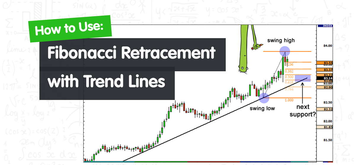 You are currently viewing How to Use Fibonacci Retracement with Trend Lines